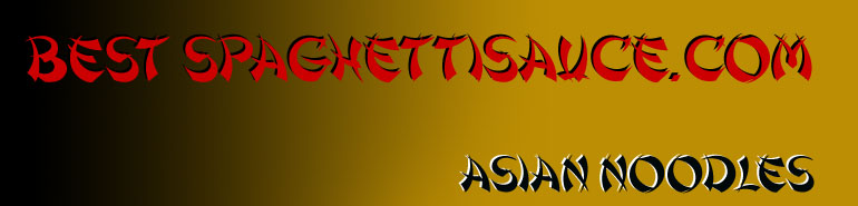 Asian noodles title banner